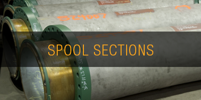 Wear Pipe Spool Sections